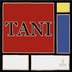Mondrian 表札 200×200