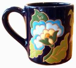 花・マグカップ