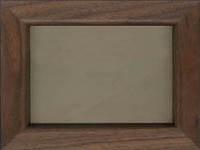 ウッドフレーム:オイル仕上げウォールナット200×150用